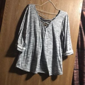 Maurices beautiful top with cleavage cutout